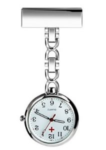 69333d27d Even male nurses can use this elegantly designed fob watch. Made of  top-grade, rose-colored alloy, it is resistant to some water splashes but  not ideal for ...